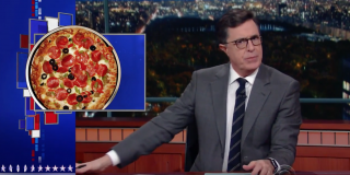 Stephen Colbert Talks Pizzagate
