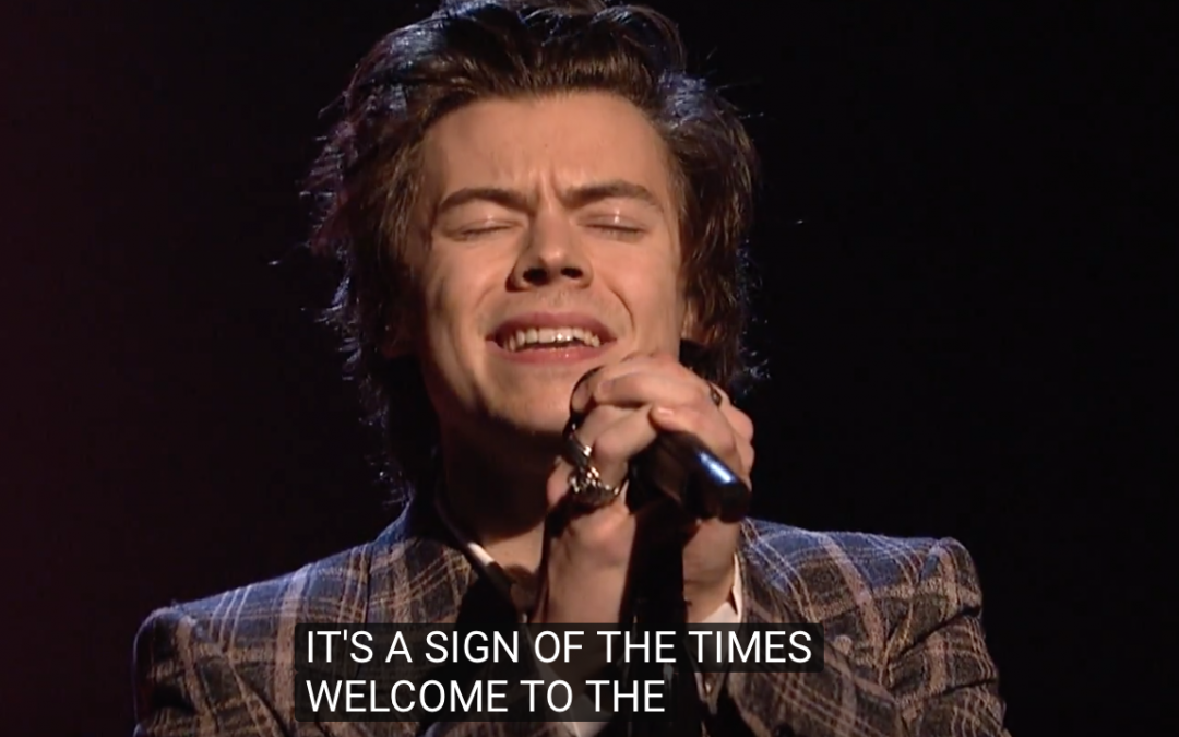 Harry Styles on SNL