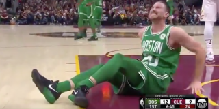 """Hayward has broken his leg"""