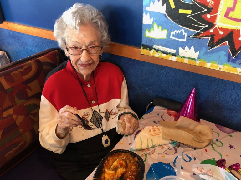 For 107, She Can Have Tots