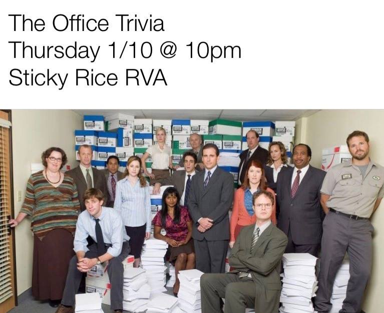 The Office Trivia – Richmond Edition